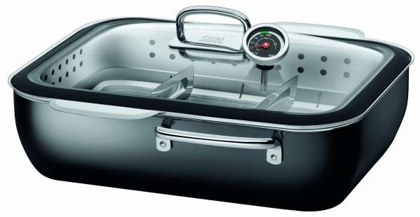ecompact Dampfgarer 34 cm Professionell 6,7 l