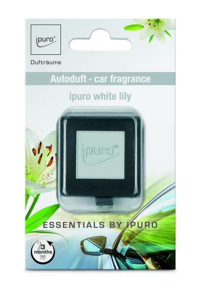 Essentials Car Line Autoduft White Lily