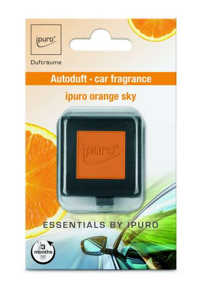 Essentials Car Line Autoduft Orange Sky
